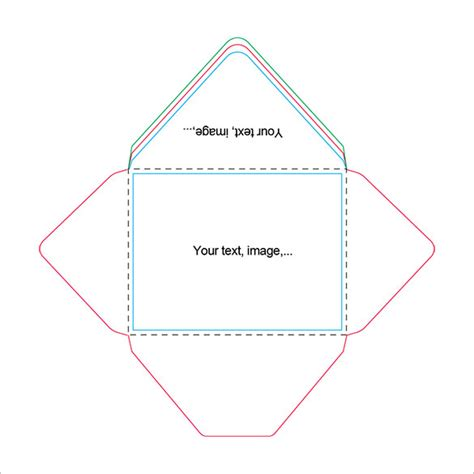 template for a card envelope beautiful a2 envelope templates 13 free printable word
