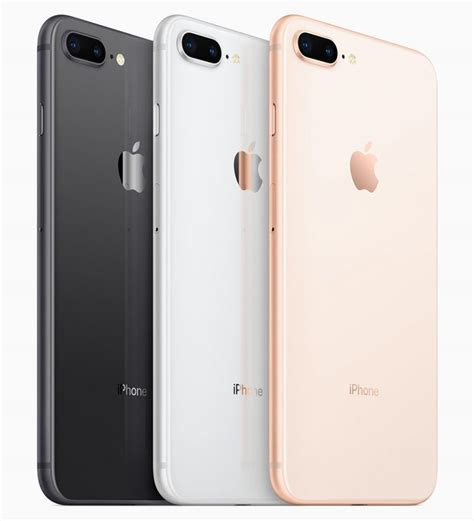 apple iphone 8 and iphone 8 plus with a11 bionic chip glass back wireless charging announced