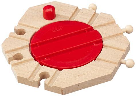 brio turntable brio mechanical turntable child wooden nursery toy railway