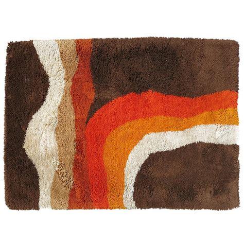 1970s rug west german shag rug circa 1970 at 1stdibs