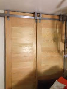 Ceiling Mounted Barn Doors » Home Design 2017