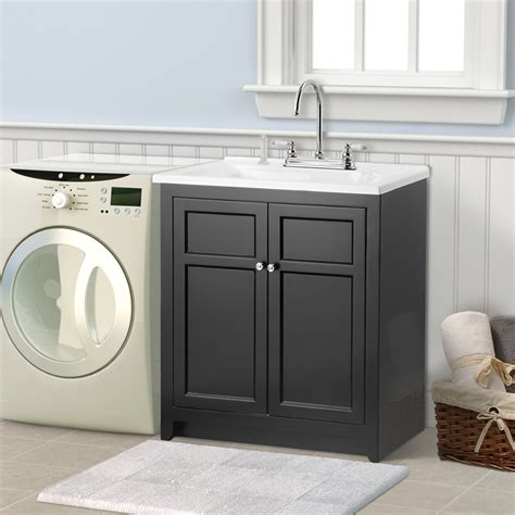Laundry Tub Vanity Combo by Laundry Room Cabinets Home Depot Decor Ideasdecor Ideas