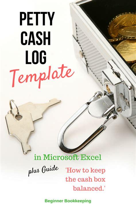petty cash log   petty cash procedures