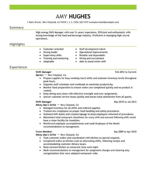 restaurant manager resume exle assistant restaurant manager resume http topresume