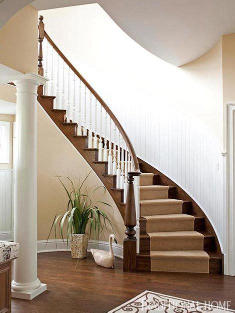 Curved Stairs Design 195 Best Images About Entry Foyer Stairs Country Traditional On Pinterest