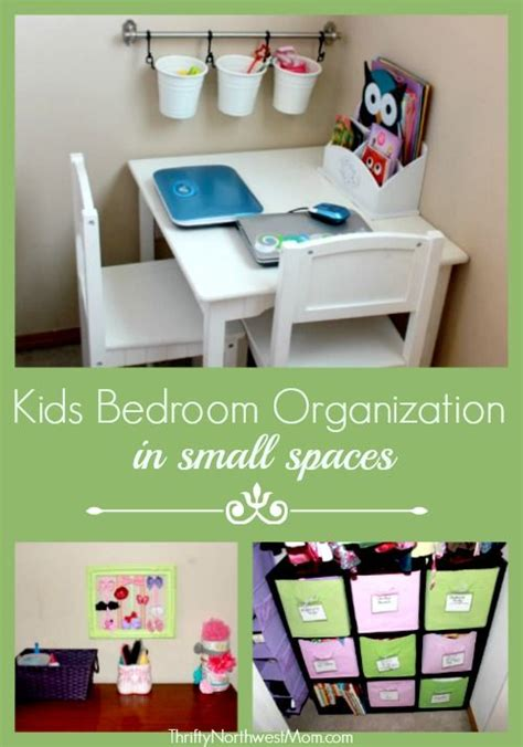 kids bedroom organization  small spaces   budget