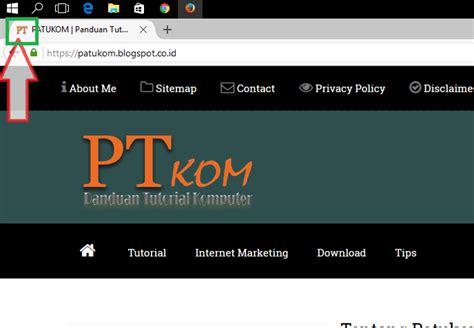 membuat link favicon belajar html penjelasan tag cara membuat favicon