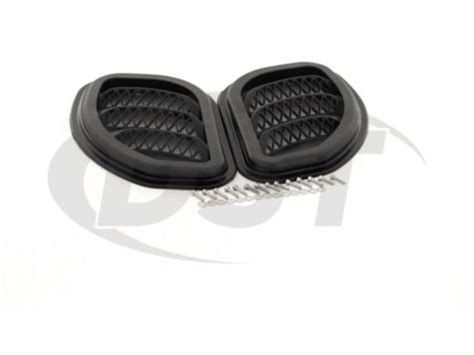 Jeep Jk Vents Daystar Kj71048bk Jeep Wrangler Jk Side Vents