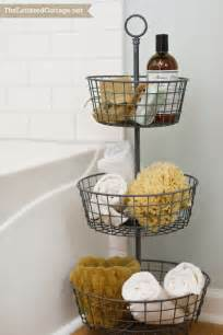basket bathroom storage 25 bathroom space saver ideas