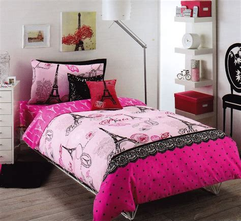 pink and black paris themed bedroom create a dream paris bedroom decor theme