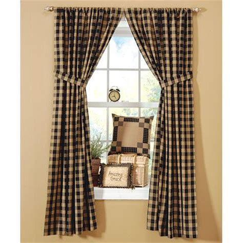 buffalo check curtains black 195 best images about buffalo check on pinterest black