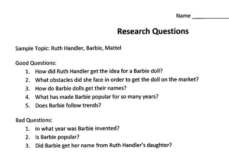 Bad Or Question Pin Research Question Exles Image Search Results On