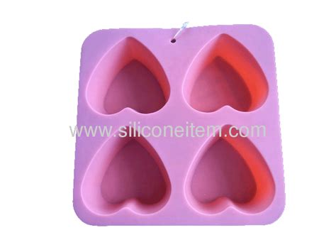 Silicone Friend 4 pink friend silicone mould ss muffin 009