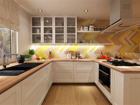 yellow kitchen tile 22 yellow accent kitchens that really shine