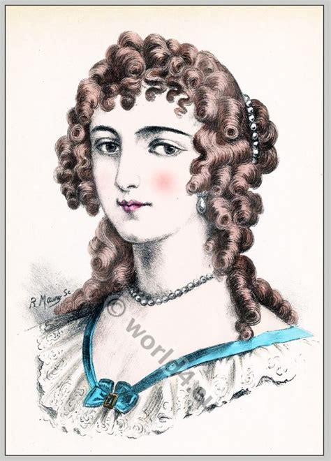 womens hairstyles from french revolutuion fashion 17th coiffures louis 17th century french women