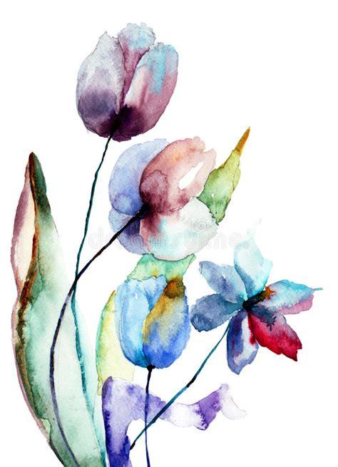 fiori stilizzati fiori stilizzati immagine stock immagine 30871561