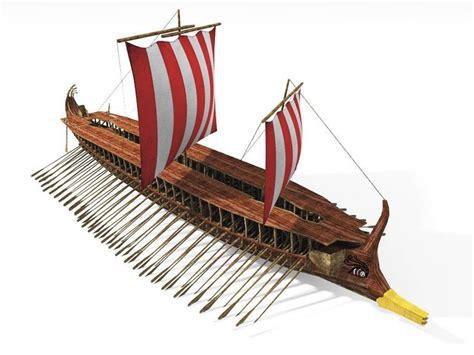 replica   ancient greek trireme ship