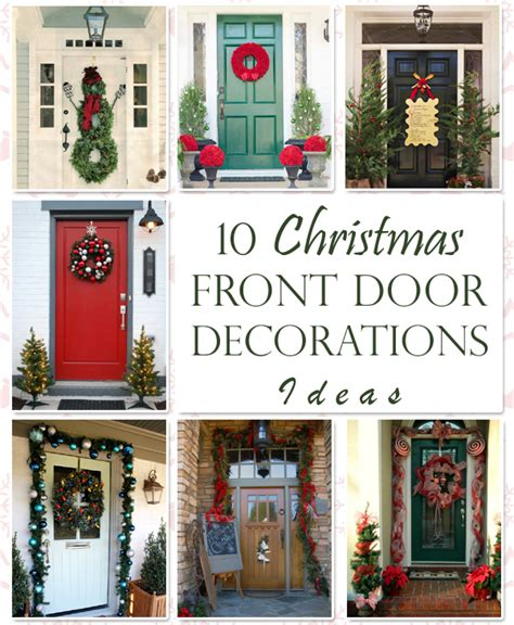 12 days of christmas on pinterest christmas door decorations 10 unique front door decorations ideas