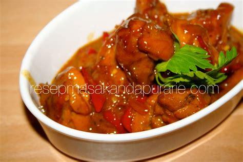 resep semur ayam kecap resep masakan dapur arie