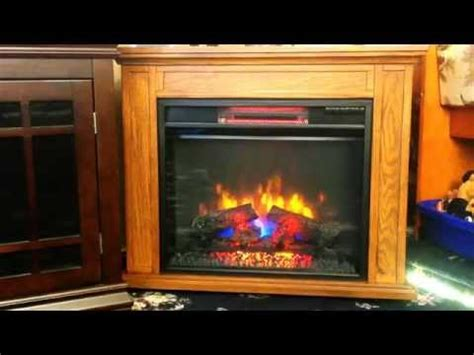 review duraflame infared electric fireplace