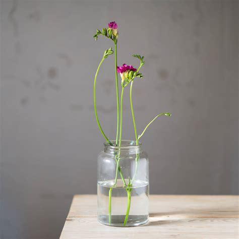 Jar Flower Vase by Country Jam Jar Flower Vase By The Flower Studio