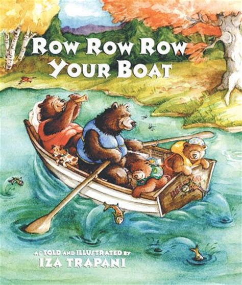 row your boat same tune as row row row your boat book
