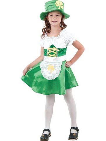 leprechaun girl child costume party delights