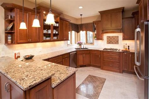 cherry cabinets with quartz countertops cambria berkley quartz countertops with cherry cabinets