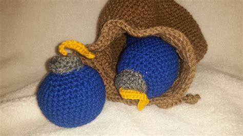 free crochet pattern zelda hat zelda bomb bag crochet pattern images