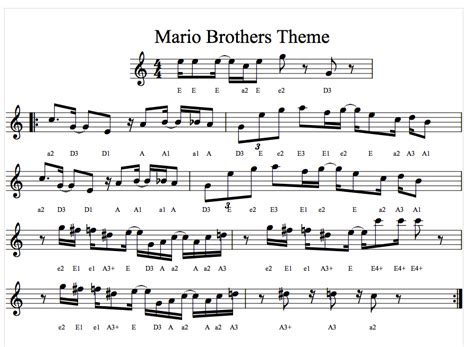theme music mario 3 song of the wind with colors string class charter