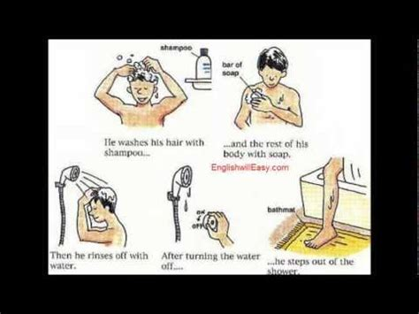 Is Taking A Shower Everyday Bad For Your Hair taking a shower picture dictionary for everyday
