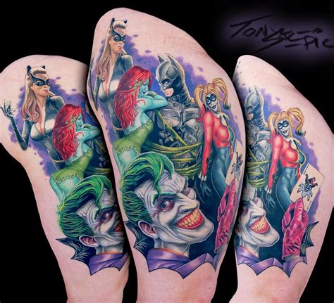 best tattoo artist in dc dc comics by tony sklepic