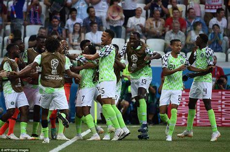 hasil pertandingan nigeria vs islandia 2 0 piala dunia 2018