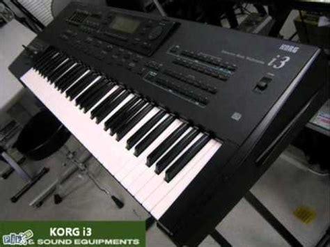 Keyboard Korg I3 rumba mix klopaaa korg i3