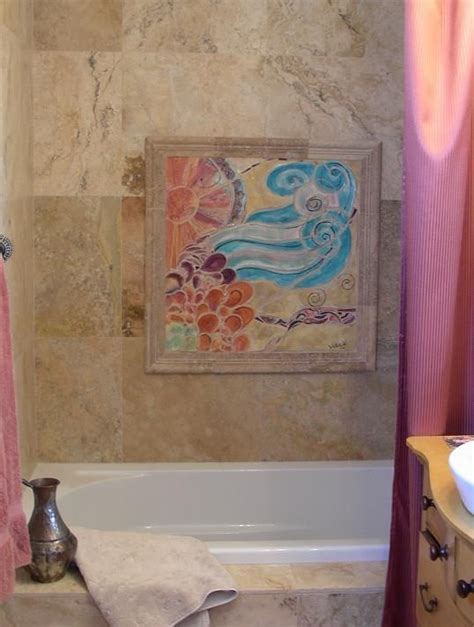 Handmade Tile Companies - custom made handmade tile mosaic insert for bathtub
