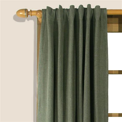 homespun curtains homespun insulated window treatment