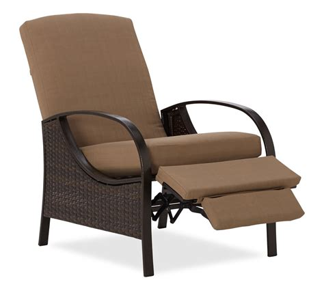 all weather wicker recliner com strathwood all weather wicker deep seating