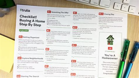 step by step on buying a house trulia s sanity saving home buying process checklist