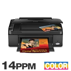 Printer Epson Stylus Nx130 All In One epson stylus nx110 c11ca46201 all in one color inkjet printer 28 ppm black 14 ppm color 5760