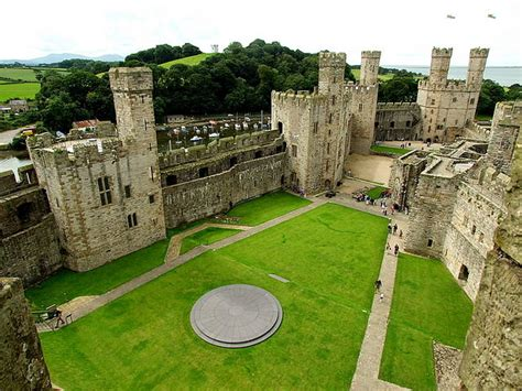 Caernarfon Castle Interior by Go Explore Conwy And Caernarfon Castles In
