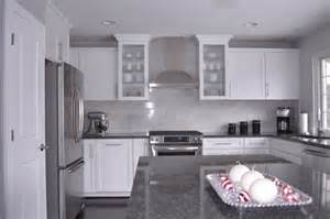 White Kitchen Cabinets With Granite White Kitchen Cabinets With Gray Granite Countertops Grey Granite Countertops Kitchens White