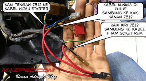 wiring diagram kelistrikan supra x 125 k