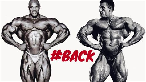ronnie coleman vs dorian yates the best backs