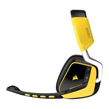 Sale Corsair Void Special Edition Yellowjacket Wireless Dolby 7 1 corsair void 7 1 special edition rgb usb wireless pc gaming headset yellow jacket ln66496 ca