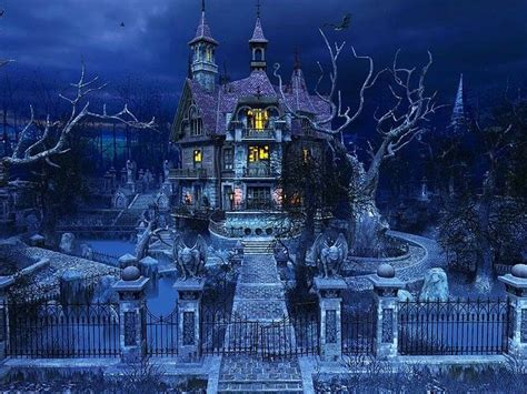 x haunted house scary haunted mansions haunted house 3d screensaver