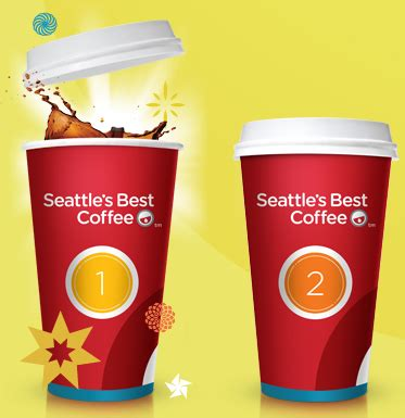 seattle's best coffee red cup showdown instant win game