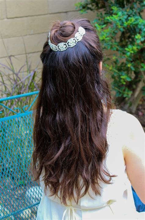 Wedding Hair Bun Wraps by Wedding Hair Chain Bun Wrap Wedding Tiara By