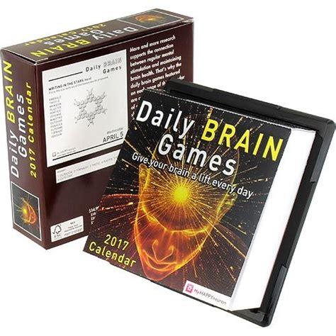 daily desk calendar 2017 daily brain 2017 desk calendar by xump com