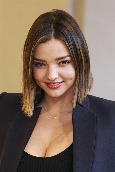 Miranda Kerr Short Hair Feb 2016   POPSUGAR Beauty Australia