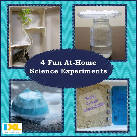 simple science experiments you can do at home